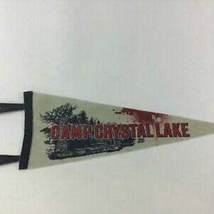 Camp Crystal Lake Pennant Friday The 13th